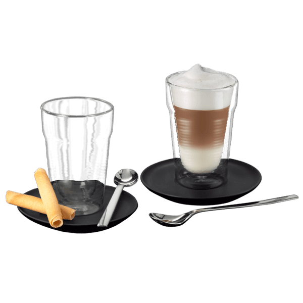 GLASS SET LATTE MACCHIATO